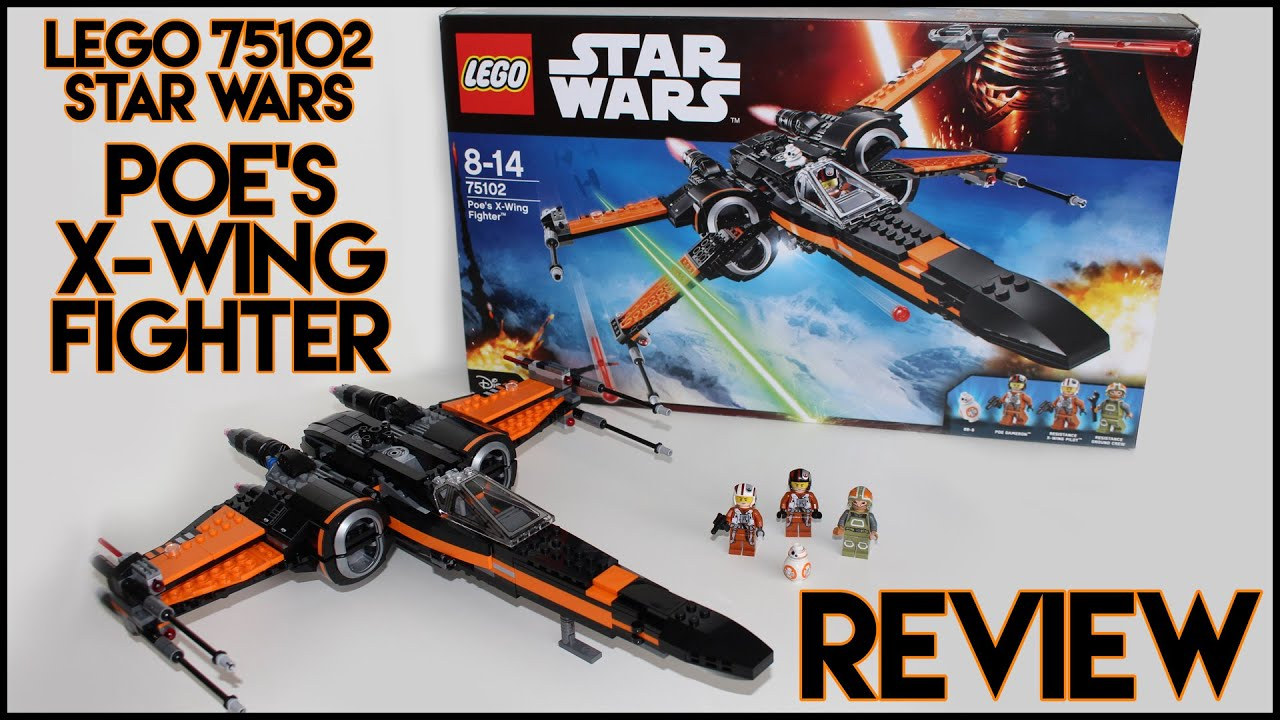 Lego star wars poe s x wing fighter review 75102 youtube - Lego Star Wars Poe S X Wing Fighter Review 75102 Youtube 8