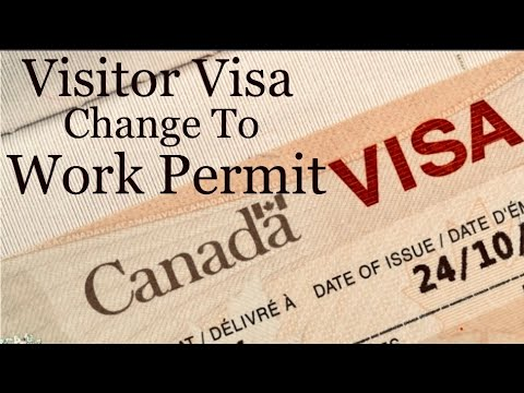 Visitor Visa Change To Work Permit In Canada 🇨🇦 Full Information $ LMIA $ NOC.