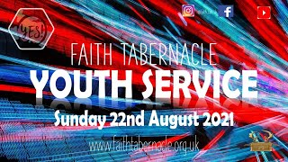Y.E.S Youth Service 22nd August 2021