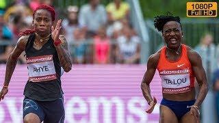 Women's 100m at Istvan Gyulai Memorial 2018
