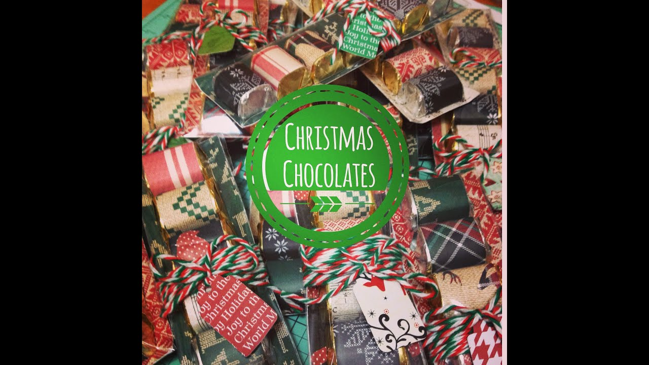 Craft fair idea 10 christmas chocolate packs best for Craft fair best sellers