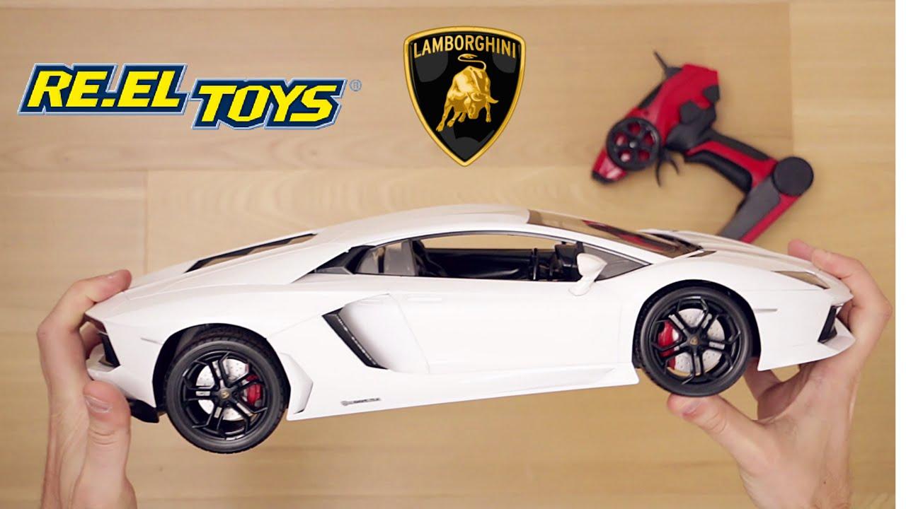 Lamborghini Aventador elettrica telecomandata scala 1:10 RC - YouTube