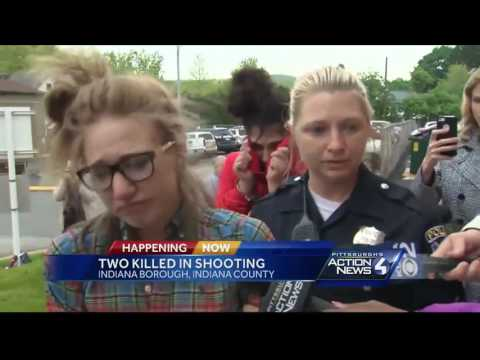 IUP student, 2 women in custody after double fatal shooting in Indiana Borough