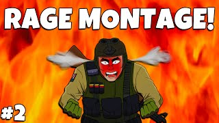 CS:GO - RAGE MONTAGE #2 (CSGO Funny Moments and Fails)