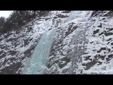 Dolomiti  panorama spettacolare con neve gennaio 2015 (filmador renato)