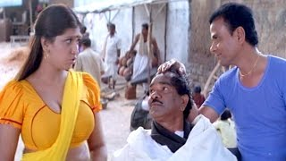 Repeat youtube video Bhuvaneswari & L.B. Sriram Comedy Scene || Bhagyalakshmi Bumper Draw Movie || Rajendra Prasad