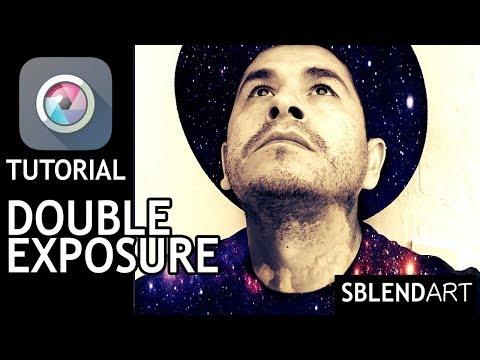 Pixlr App - Simple Double Exposure Photo Edit Tutorial