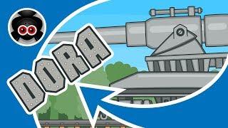 Атака Стальных Монстров #2: ДОРА | Мультики про танки