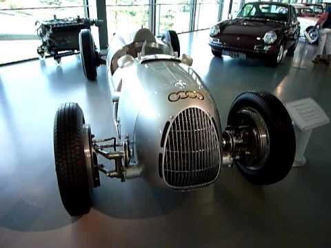 VW Autostadt Wolfsburg Audi Auto Union GP Race Car Type C YouTube - Vintage audi cars