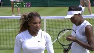 Serena Williams forced to withdraw from doubles - Wimbledon 2014