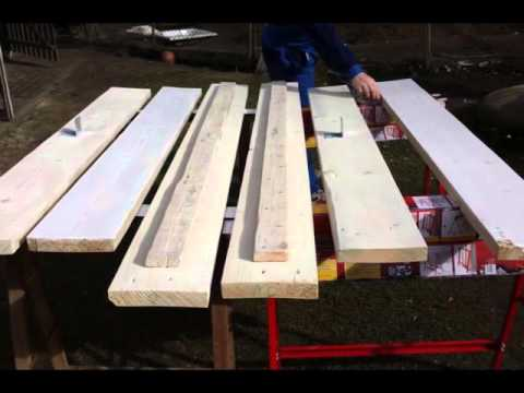 diy ein bett entsteht bettenbau stabiles bett sel. Black Bedroom Furniture Sets. Home Design Ideas