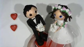 Ролик МК Жених и Невеста с голубями.