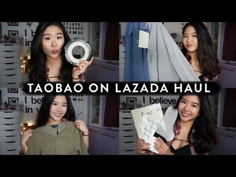 Rojak Taobao/Lazada Haul | Fashion & Tech