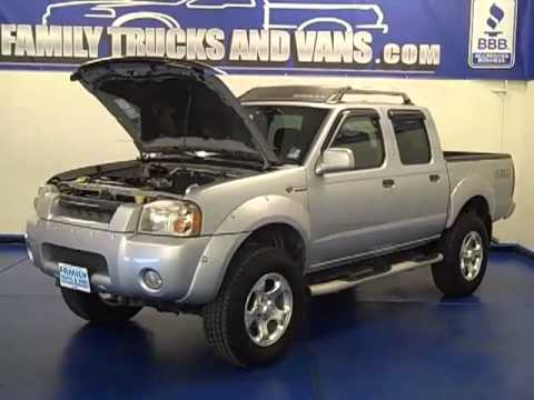 Family Trucks and Vans 2002 Nissan Frontier B21843 - YouTube