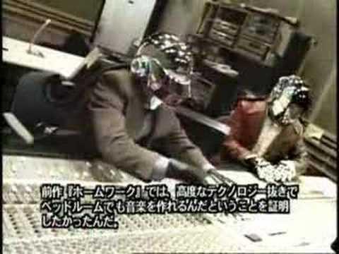 Daft Punk interview in Japan (1/2)