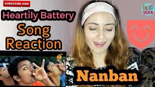 Heartily Battery Song Reaction | Nanban | Thalapathy Vijay | Usha KC