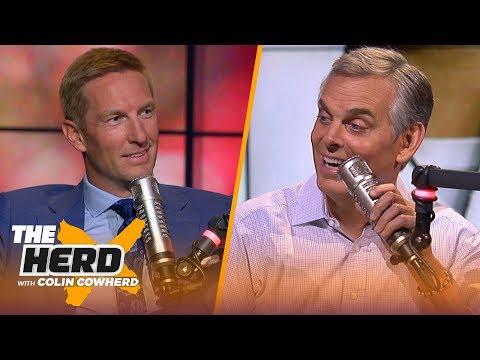Joel Klatt on Kyler Murray & NFL Draft, says Rosen will succeed just not with Cards | NFL | THE HERD