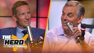 Joel Klatt on Kyler Murray & NFL Draft, says Rosen will succeed just not with Cards | NFL | THE HERD