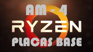 amd ryzen placas base socket am4 informacin y modelos espaol