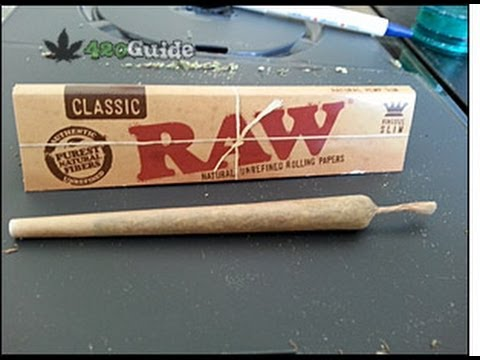 How to roll a joint.