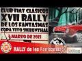 Rally De Los Fantasmas 2021   Regularidad Nocturna Autos Clásicos   Club Fiat Clásicos De Argentina