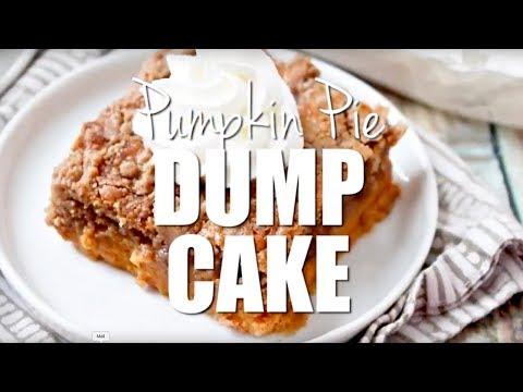 How to make: Pumpkin Pie Dump Cake