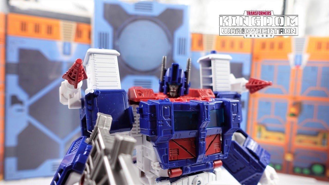 Transformers War For Cybertron Kingdom Autobot Leader Ultra Magnus 4K by bvzxa3