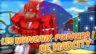 THE NEW HEROS POWERS! - Roblox Madcity