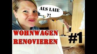 Wohnwagen renovieren als Laie | Folge 1 |  Schimmel & Sägeblattabbruch