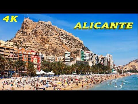 ALICANTE - SPAIN 4K TOP ATTRACTIONS