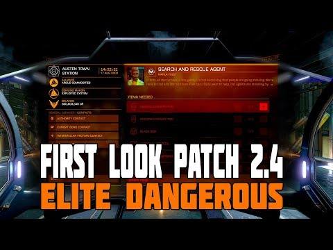 Elite Dangerous - Beta 2.4 Release - First Look
