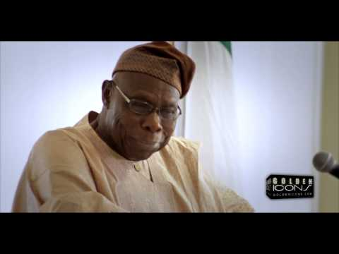 Former Nigerian President OBJ detained by Canadian Immigration - Coverage by Golden Icons