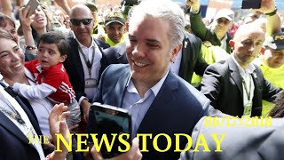 Pro-business Candidate Wins Colombian Presidential Election | News Today | 06/18/2018 | Donald ...