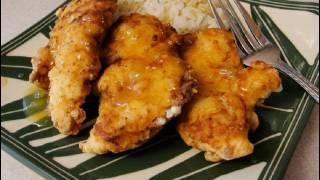 Chicken Fingers (tenderloins) With Lemon Sauce
