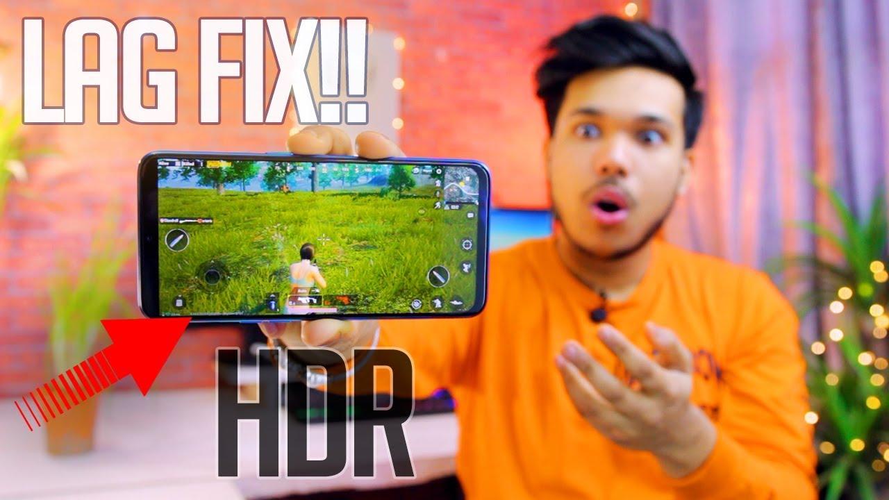 PUBG LAG FIX + HDR Settings Pr Khelo Kisi Bhi Phone PE OMG
