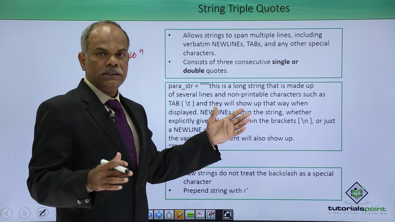 Python - Triple Quotes