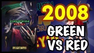 2008 - GREEN VS RED #YEAROFLUPIN