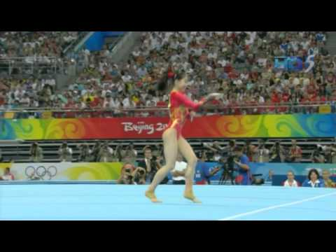 Jiang Yuyuan - Floor Exercise - 2008 Olympics Team Final
