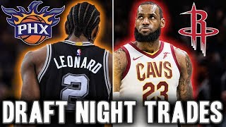 5 Crazy NBA Draft Night Trade That Would Shock The World