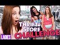Embarrassing Thrift Store Challenge! - GOING OUT IN PUBLIC!