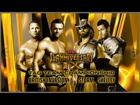 Gun Money vs British Invasion (Slammiversary, 2011)