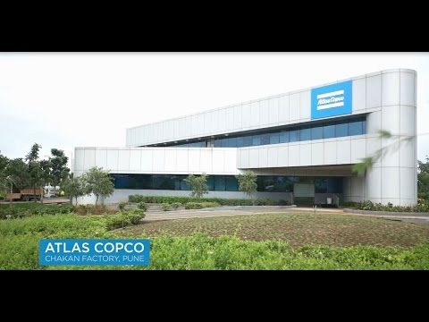 Atlas Copco's world class facility in Pune, India