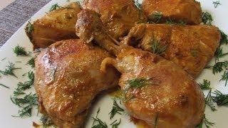 Как вкусно пожарить курицу ✧ Жареная курица в соусе