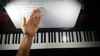 Dönersen Islık Çal piyano cover Piyano Eşliği Cm Do Minör Video