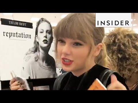 Taylor Swift Went To Target To Buy Her Reputation Album