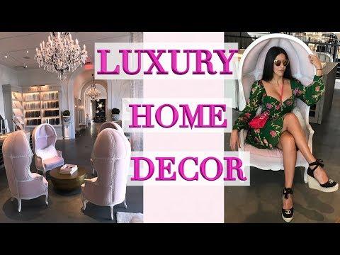 Restoration Hardware - Luxury Furniture Shopping Vlog