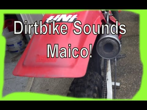 Dirtbikes: The Sound of Maico Motorcycles