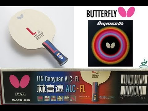 Butterfly LIN Gaoyuan ALC With Dignics 05 (Full)   Pingpongthaibaan