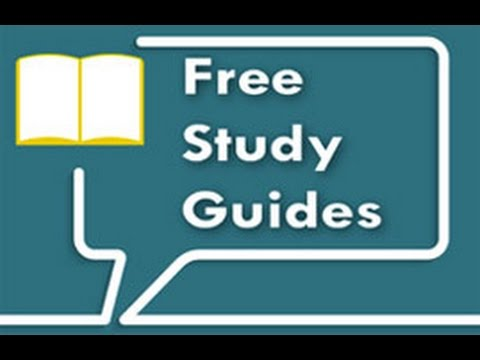 5 Free Study Guides I Have Made For You