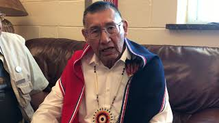 SFIS Santa Fe Indian School  POW WOW 2018 - Farrell Emahoolah